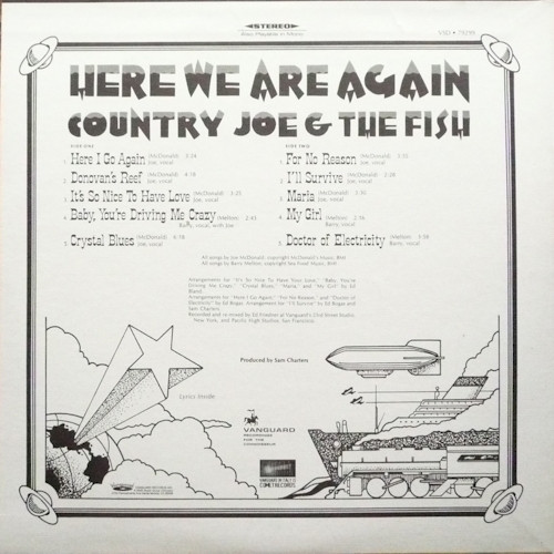 Country Joe And The Fish – Here We Are Again