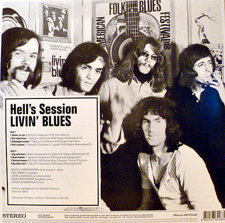 Livin' Blues – Hell's Session ( 180g )
