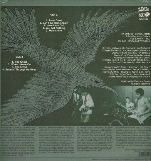 Lone Crows – The Lone Crows