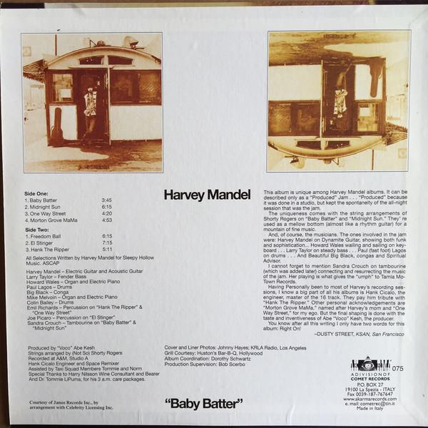 Harvey Mandel – Baby Batter ( 180g )