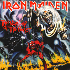 Iron Maiden ‎– The Number Of The Beast