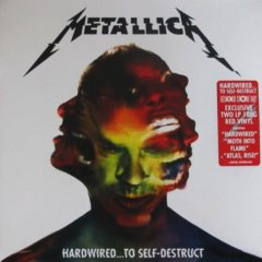 Metallica ‎– Hardwired...To Self-Destruct ( 2 LP, Red Vinyl )