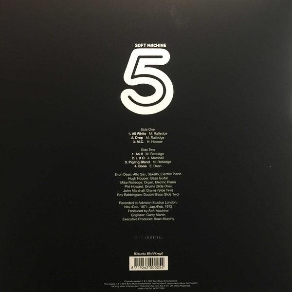 Soft Machine – Fifth ( 180g, Color Vinyl )