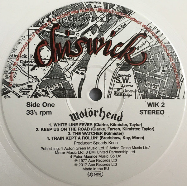 Motörhead – Motorhead ( Color Vinyl )