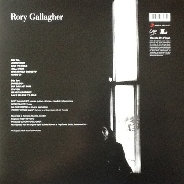 Rory Gallagher – Rory Gallagher ( 180g )