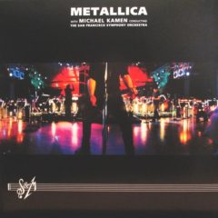Metallica With Michael Kamen Conducting The San Francisco Symphony Orchestra ‎– S & M