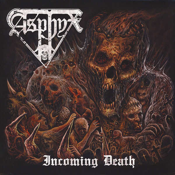 Asphyx ‎– Incoming Death ( 180g )