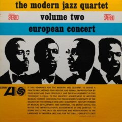 Modern Jazz Quartet ‎– European Concert Volume Two