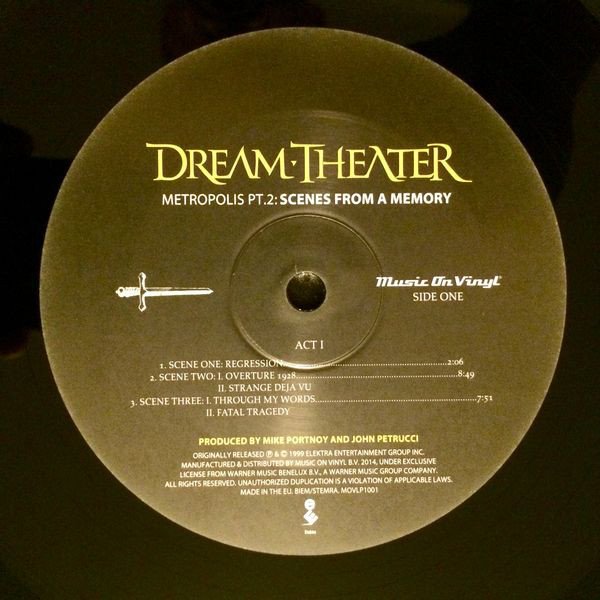 Dream Theater – Metropolis Pt. 2: Scenes From A Memory