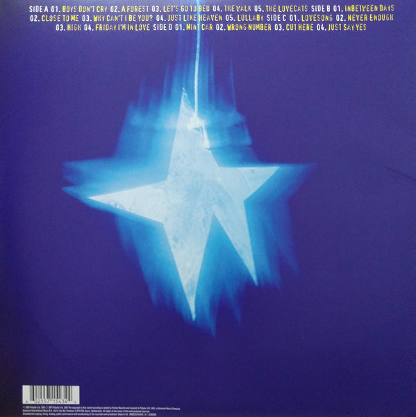 Cure – Greatest Hits ( 2 LP, 180g )