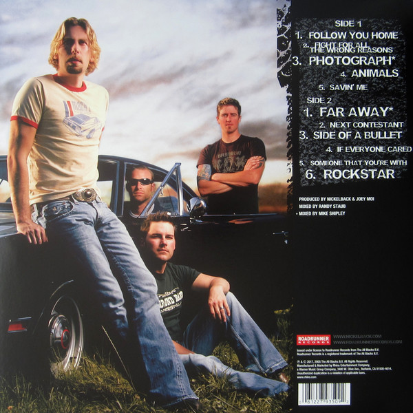 Nickelback ‎– All The Right Reasons