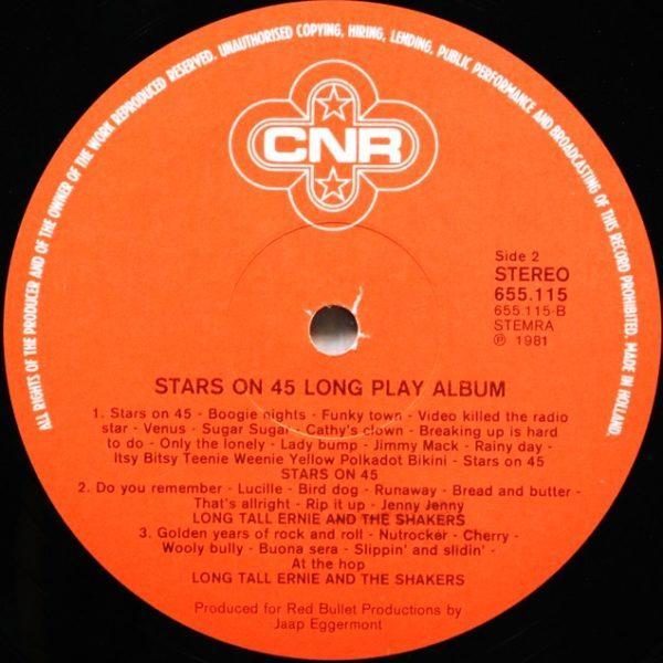 Stars On 45 – Long Play Album