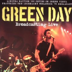 Green Day ‎– Broadcasting Live ( Color Vinyl )