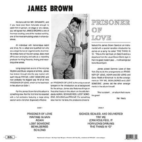 James Brown – Prisoner Of Love