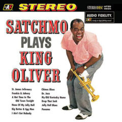 Louis Armstrong ‎– Satchmo Plays King Oliver (200g)