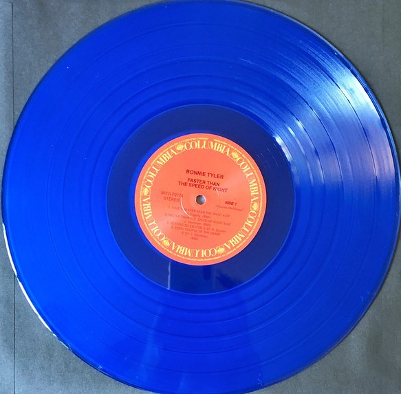 Bonnie Tyler – Faster Than The Speed Of Night (Color Vinyl)
