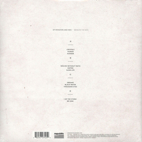 Of Monsters And Men – Beneath The Skin ( 2 LP )