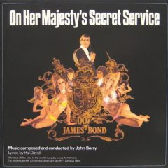 John Barry ‎– On Her Majesty's Secret Service ( 180g )