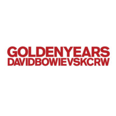 David Bowie Vs KCRW ‎– Golden Years
