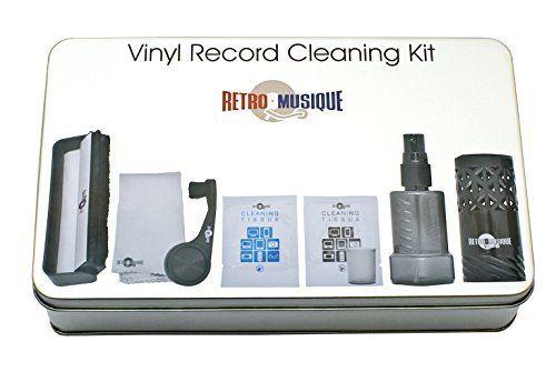 Набор для ухода за пластинками и иглой звукоснимателя Vinyl Record Cleaning Kit