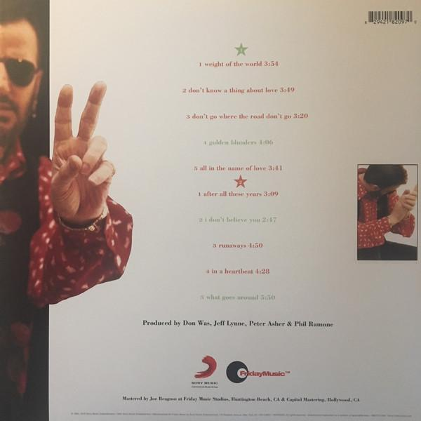 Ringo Starr ‎– Time Takes Time (Red Vinyl)