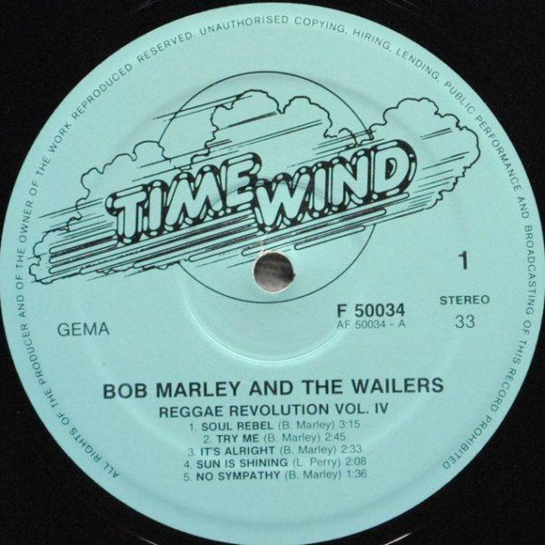 Bob Marley And The Wailers ‎– Reggae Revolution Vol. 4