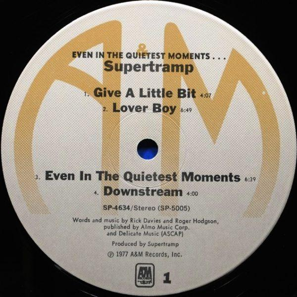 Supertramp – Even In The Quietest Moments...