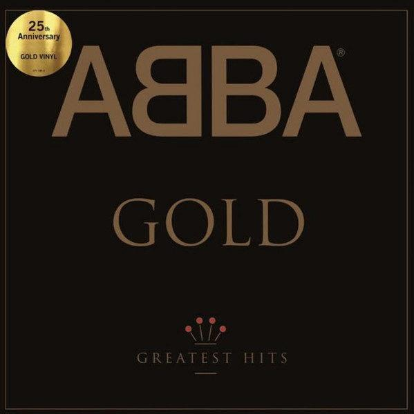 ABBA ‎– Gold (Greatest Hits) (Gold Vinyl)