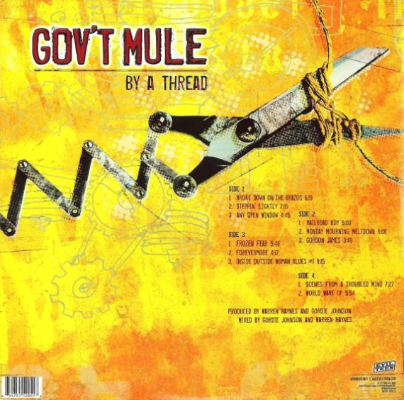 Gov't Mule – By A Thread