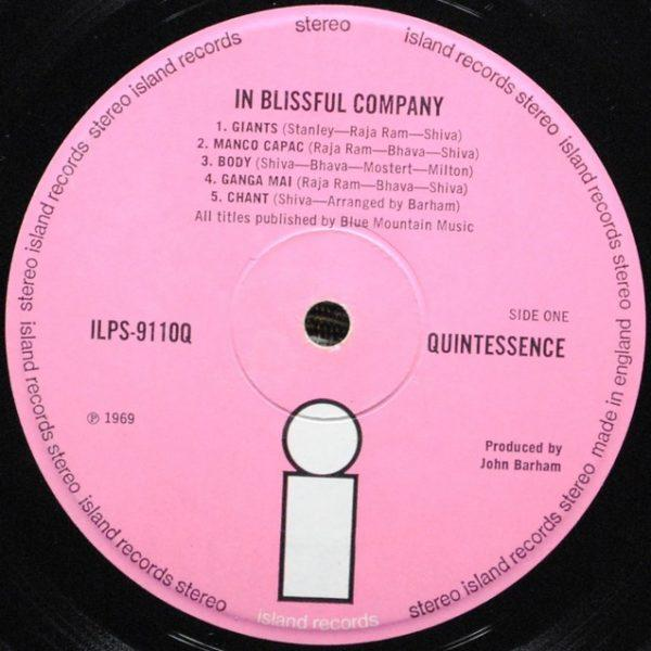 Quintessence – In Blissful Company