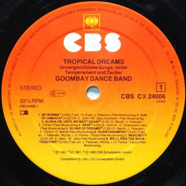 Goombay Dance Band – Tropical Dreams