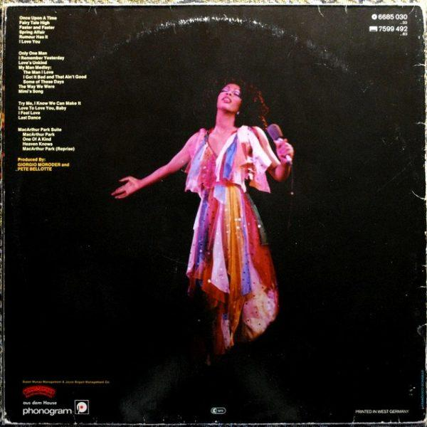 Donna Summer – Live And More