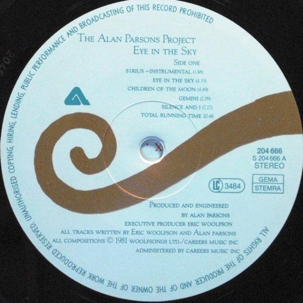 Alan Parsons Project – Eye In The Sky