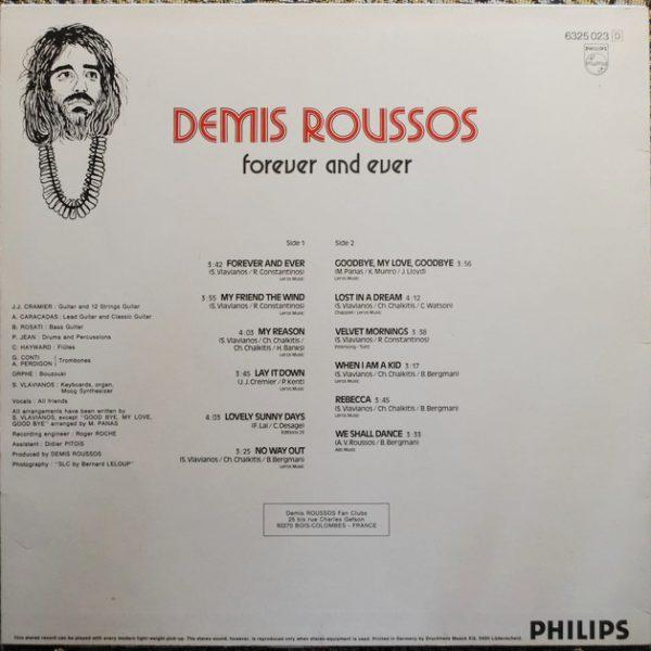 Demis Roussos – Forever And Ever (1973)
