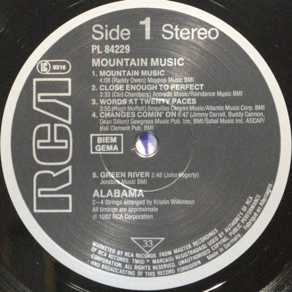 Alabama – Mountain Music