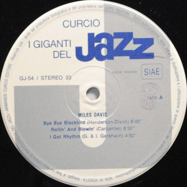 Miles Davis / Coleman Hawkins – I Giganti Del Jazz Vol. 54