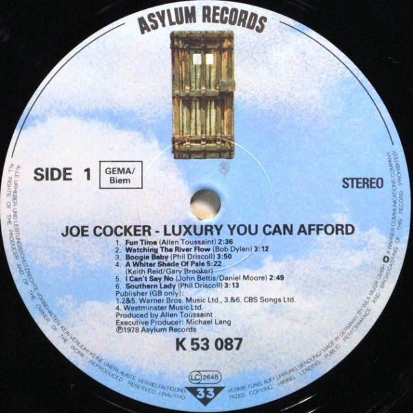 Joe Cocker – Luxury You Can Afford