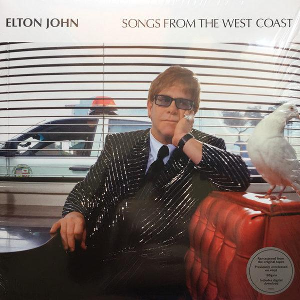 Elton John ‎– Songs From The West Coast