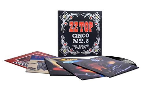 ZZ Top ‎– Cinco No. 2 (The Second Five LPs)