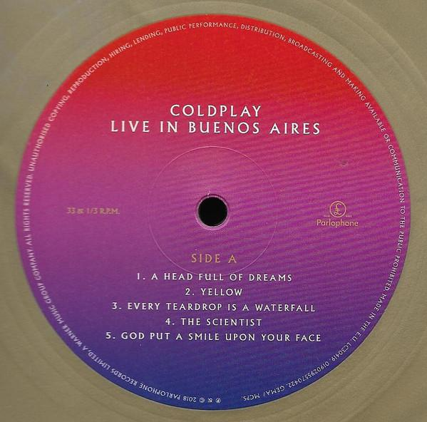 Coldplay – Live In Buenos Aires / Live In São Paulo / A Head Full Of Dreams