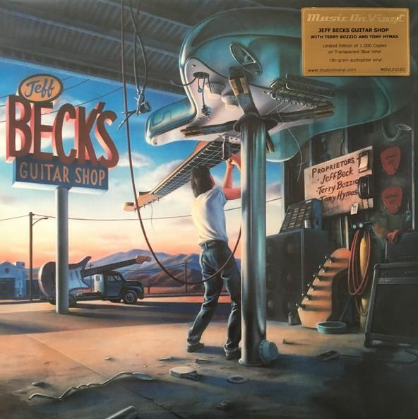 Jeff Beck With Terry Bozzio And Tony Hymas ‎– Jeff Beck's Guitar Shop