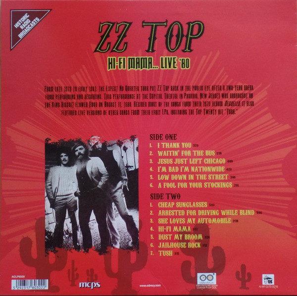 ZZ Top – Hi-Fi Mama... Live '80