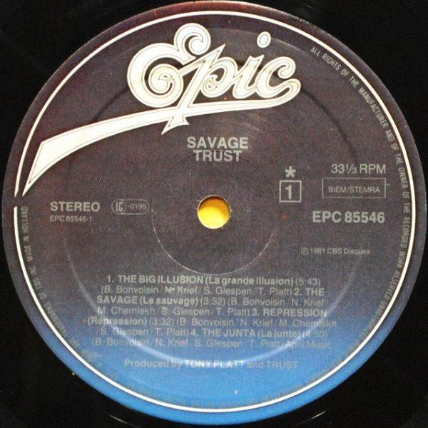 Trust - Savage (1982)