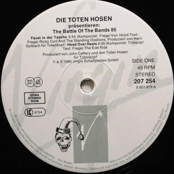 Die Toten Hosen – Präsentieren: The Battle Of The Bands 85
