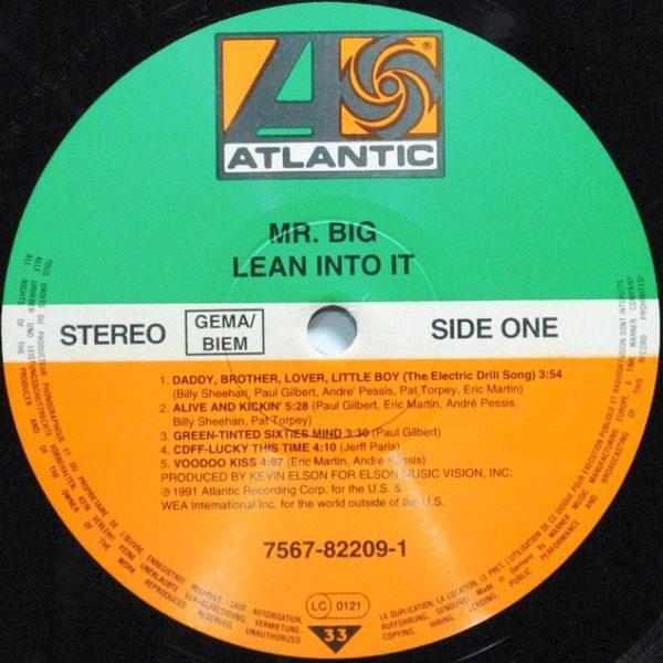 Mr. Big – Lean Into It