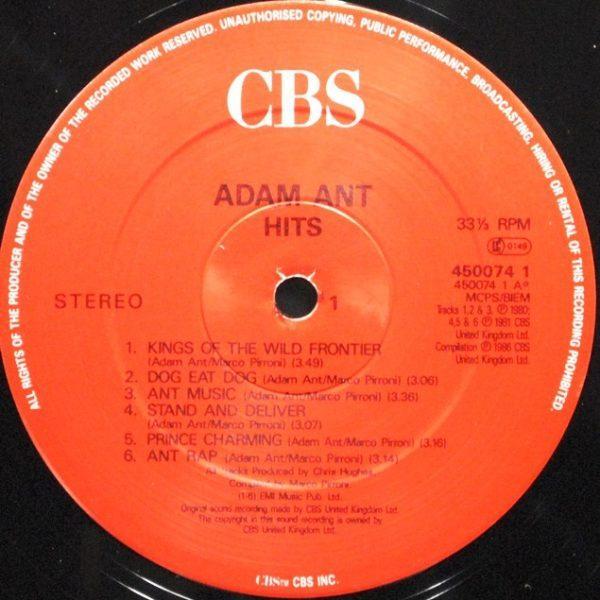 Adam Ant – Hits