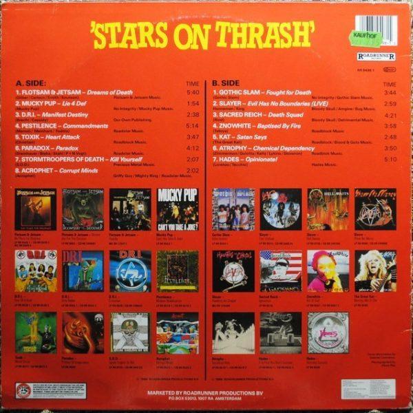 Various – Stars On Thrash