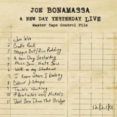 Joe Bonamassa ‎– A New Day Yesterday Live