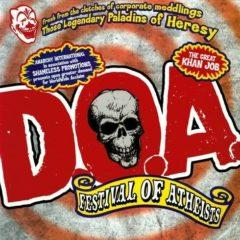 D.O.A. - Festival of Athiests [New CD]