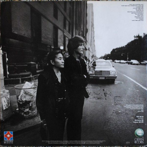 John Lennon & Yoko Ono – Double Fantasy (1980)